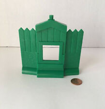Lincoln Log Replacement Green Stockade Door