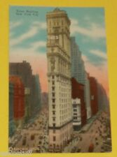 Times Building - New York City 1930s postcard! Great Picture Nice SEE!