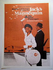 Jack's Mannequin *9:30 Club DC Fall Tour Nov 2008 Poster Andrew McMahon RARE OOP