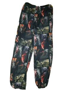 NWOT Star Wars Pajama Bottoms Sleep/Lounge Pants Mens sz L Kylo Ren Stormtrooper