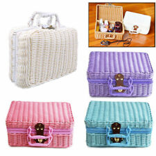 Retro Storage Box Suitcases Basket Organizer Home Decoration Photography