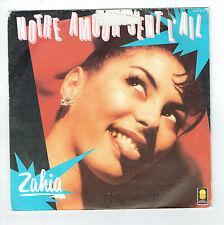 ZAHIA Vinyle 45T 7 NOTRE AMOUR SENT L'AIL -PLAY BACK -TREMA 410317 F Réduit RARE