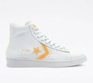 Converse all star UK 7 New Hi-Vis Pro Leather High Tops White