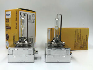 2x New OEM BMW HID Xenon Philips D1S Headlight Headlamp Bulb 63217162862