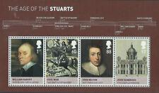 GB Miniature Sheet MS3094 Age of the Stuarts 2010