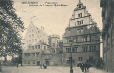 PC30280 Strassburg. Frauenhaus Batiment de L Oeuvre Notre Dame. Jul. Manias. 191