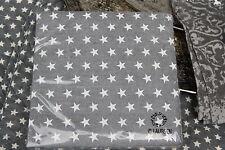*IB Laursen Servietten Papierservietten Milkey Brown Braun Stern Sterne 33x33cm