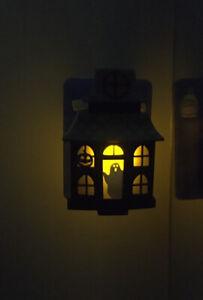 Bath & Body Works Haunted House Wallflower Plug In Halloween Light Up