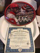 Ken Griffey Jr Cincinnati Reds Welcom To The National League Plate MLB Baseball