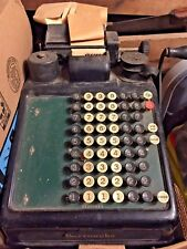 Cordless Burroughs 6 Column Adding Machine