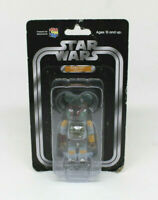 BEARBRICK MEDICOM TOY STAR WARS BOBA FETT PROTO Ver Be@rbrick 100% Never opened
