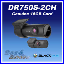 BlackVue DR750S-2CH Full HD Front & Rear View Dash Cam 16GB