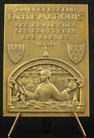 Medal 1938 Eugene Marquis Surgery Surgeon Medical Bazin 73mm Medal