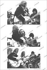 Crosby Stills Nash & Young UNIQUE 3-FRAME 1969 LIVE PHOTO Ltd. Ed. From Orig Neg
