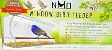 Bird Feeder Nature's Hangout Window Bird Feeder With Removable Tray New