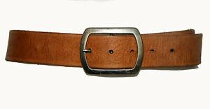 Vintage SPORTSGIRL Australian Made Tan Stamped Leather Waist Belt Size Small/Med