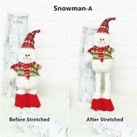 Santa Claus Doll Stretchable Hanging Pendant Ornament Decoration Christmas Gift