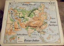 Carte Geographique Asie Pacifique.Carte Asie En Vente Ebay