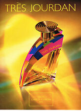 PUBLICITE ADVERTISING 104  1993  CHARLES JOURDAN   parfum femme TRES