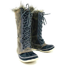 Sorel Cate the Great Pewter Winter Snow Boot Womens Size 6