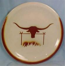 Longhorn Steer Dinner Plate Jackson China Paul McCobb Vintage Restaurant Ware