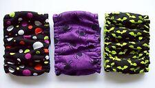 3 pk Male MEDIUM Dog Diapers Halloween Bats Belly Band Elastic 13 14 15 16 inch