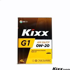 Kixx G1 - Full Synthetic Petrol Engine Oil - 0W-20, 4Litre