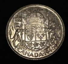 Canada 1946 50 cents silver