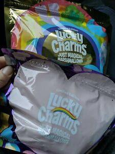 Limited edition lucky charms marshmallows only 2 bags!