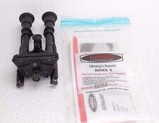 "Genuine Harris 6-9"" Leg Notches Bipod Swiveling S-BRM HBRMS MADE USA Free Ship"