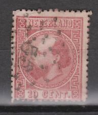 NVPH Netherlands Nederland 8 TOP CANCEL HELMOND 55 Willem III 1867 3e emissie