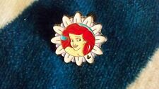 DISNEY PIN LITTLE MERMAID ARIEL PURPLE FLOWER HIDDEN MICKEY PRINCESS WDW     738
