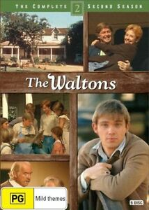 The Waltons : Season 2 (DVD, 5-Disc Set) BRAND NEW SEALED 🔥🔥