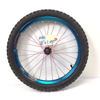 "18"" Bicycle Front Blue Wheel with 1.95"" Tire Kid's BMX Bike -M86"