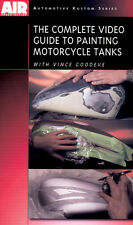 Complete Guide to Painting Motorcycle Tanks DVD Vince Goodeve by Airbrush Action