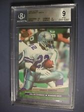 EMMITT SMITH 1992 Fleer Ultra #88 BGS MINT 9 Cowboys