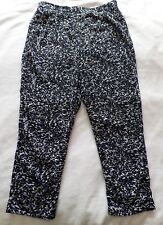 *SUMMER CLEARANCE* Black Navy Blue PANTS Size 14 Tapered White POCKETS Target