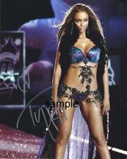 TYRA BANKS 3 REPRINT 8X10 AUTOGRAPHED SIGNED PHOTO PICTURE COLLECTIBLE RP