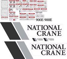National Crane 900E Boom Truck Decal Kit