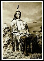 ⫸ 957 Postcard – Red Cloud, Oglala Sioux Chief, Charles Bell 1880 Photo – NEW