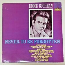Eddie Cochran (Mono Vinyl LP Cleaned Playtested LRP 3220) Never To Be Forgotten
