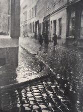 Leonard Misonne 1870-1943 Les Paves Mouilles 1937