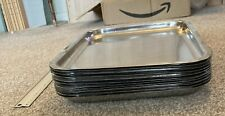 stainless steel butchers trays