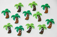 Sew Cute Palm Trees by Jesse James Dress It Up Buttons / Sew-Thru Style / NIP