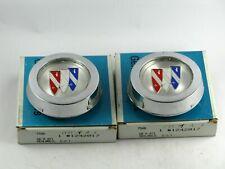 1971-1977 Buick Gran Sport Skylark GSX NOS chrome wheel hubs 1242017