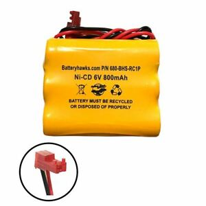 6v 800mah Ni-CD AA Battery Pack Replacement for Emergency / Exit Light