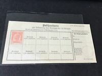 Austria unused Early  official stamps document stamps post  card Ref R32038