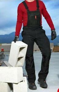 Engelbert strauss workwear Bib and brace Dungarees Size33L RRP£90