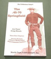 """New listing """".45-70 Springfield"""" Us Army Indian Wars Trapdoor Rifle Carbine Reference Book"""