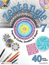 Zentangle 7 Inspiring Circles Zendalas Suzanne McNeill CZT NEW 40 More Tangles